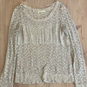 Urban Outfitters Sweaters   Ecote Ivory Sweater Gold Stars